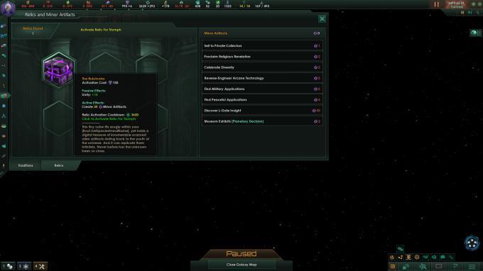 Stellaris Ancient Relics Update 2 3 1 PC Crack
