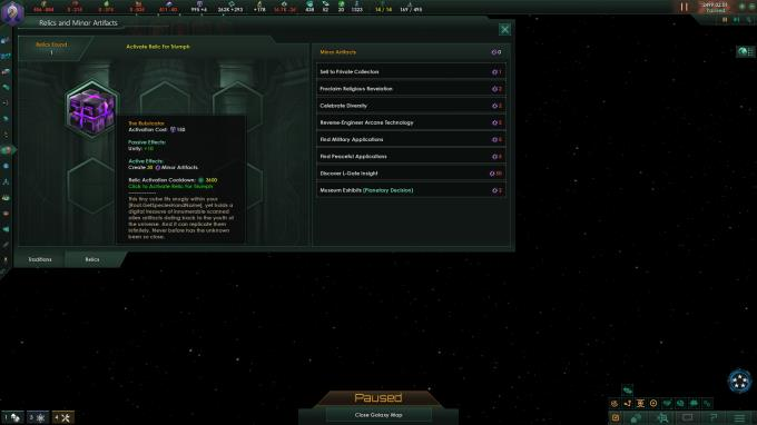 Stellaris Ancient Relics PC Crack