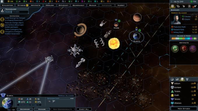 Galactic Civilizations III Retribution Update v3 7 PC Crack