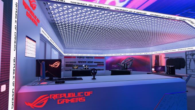 PC Building Simulator Republic of Gamers Workshop PC Crack