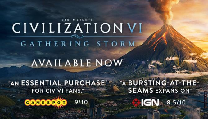 Sid Meiers Civilization VI Gathering Storm Update v1 0 0 341 Free Download