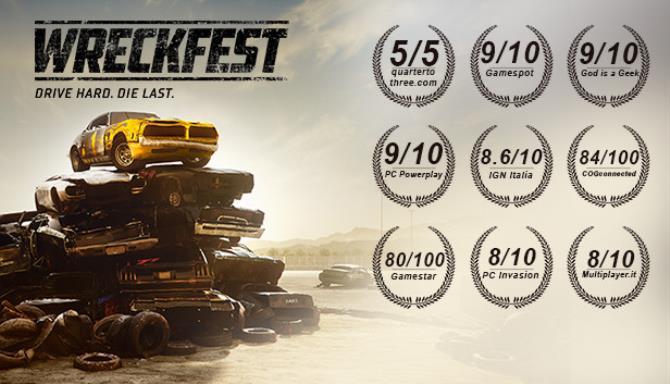 Wreckfest Update v1 250834 incl DLC Free Download
