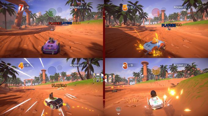 Garfield Kart Furious Racing PC Crack