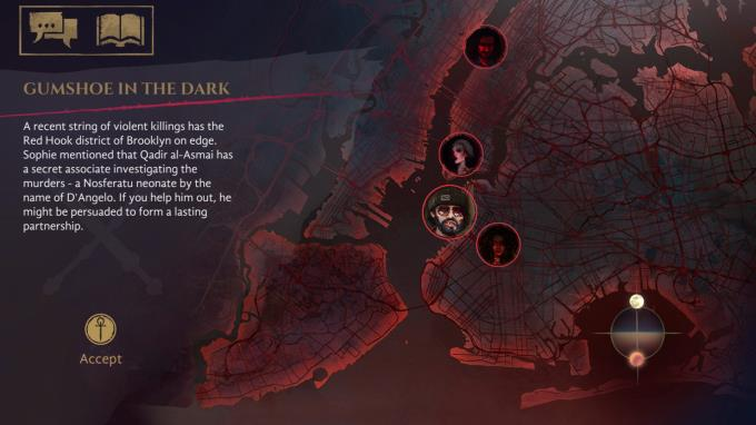 Vampire The Masquerade Coteries of New York PC Crack