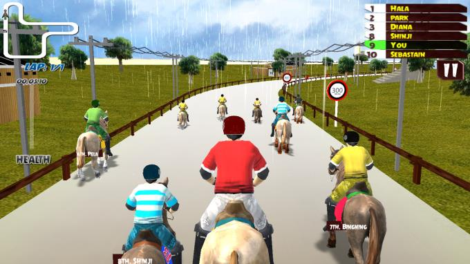 Horse Racing Rally PC Crack