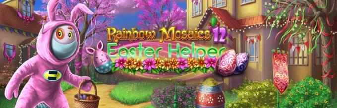 Rainbow Mosaics 12 Easter Helper Free Download