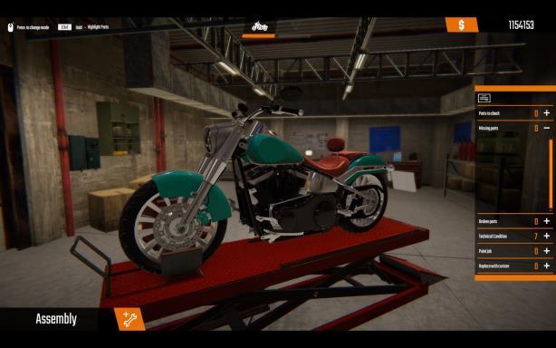 Biker Garage Mechanic Simulator Customization PC Crack