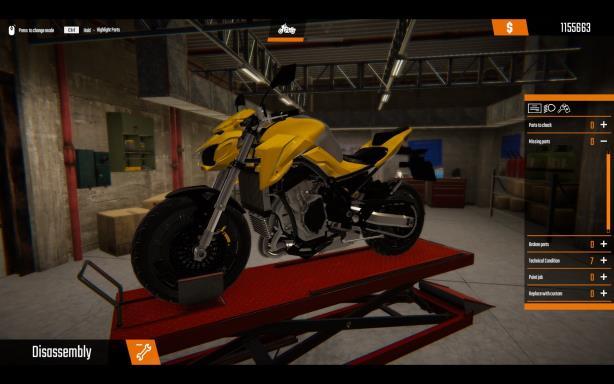 Biker Garage Mechanic Simulator Customization Torrent Download