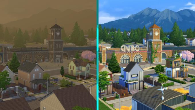 The Sims 4 Eco Lifestyle Update v1 65 77 1020 PC Crack