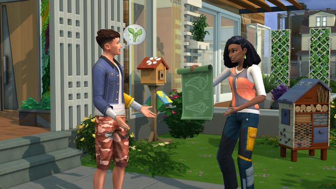 The Sims 4 Eco Lifestyle Update v1 65 77 1020 Torrent Download