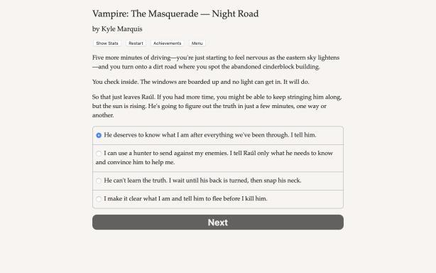 Vampire: The Masquerade — Night Road PC Crack