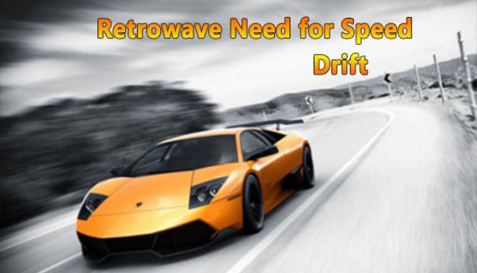 Hız Kayması Ücretsiz İndir için Retrowave İhtiyacı
