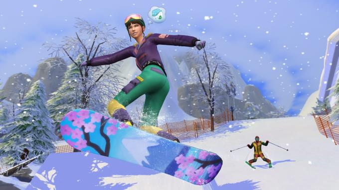 The Sims 4 Snowy Escape Torrent Download