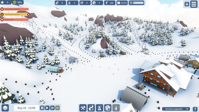 Snowtopia: Ski Resort Tycoon PC Crack