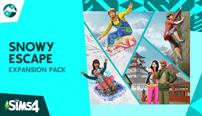 The Sims 4 Snowy Escape Update v1 71 86 1020 incl DLC Free Download