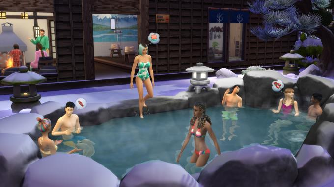 The Sims 4 Snowy Escape Update v1 71 86 1020 incl DLC PC Crack