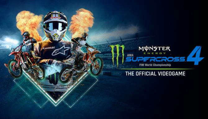 Monster Energy Supercross The Official Videogame 4 Update v1 06 incl DLC Free Download