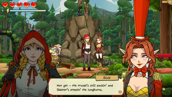 Scarlet Hood And The Wicked Wood PC Crack