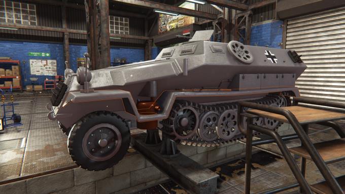 Tank Mechanic Simulator Update v1 2 3 PC Crack