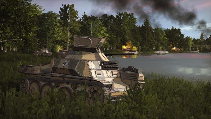 Steel Division 2 Burning Baltics Update v51345 PC Crack