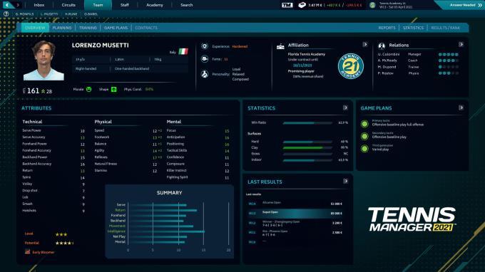 Tennis Manager 2021 Torrent Download