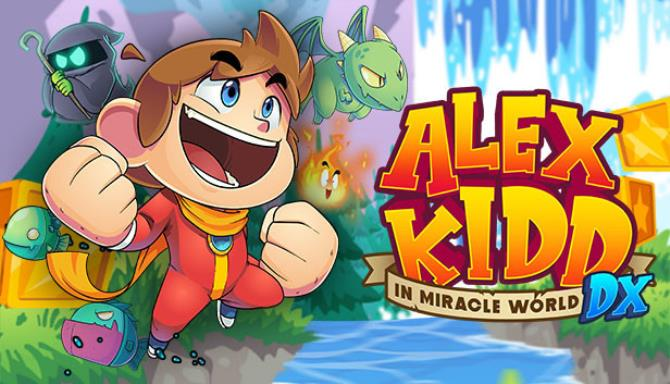 Alex Kidd in Miracle World DX Free Download