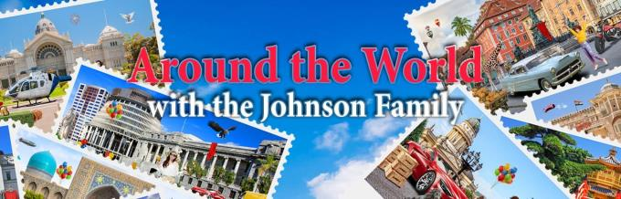 Around the World with the Johnson Family Free Download