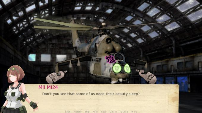 Attack Helicopter Dating Simulator PC Crack
