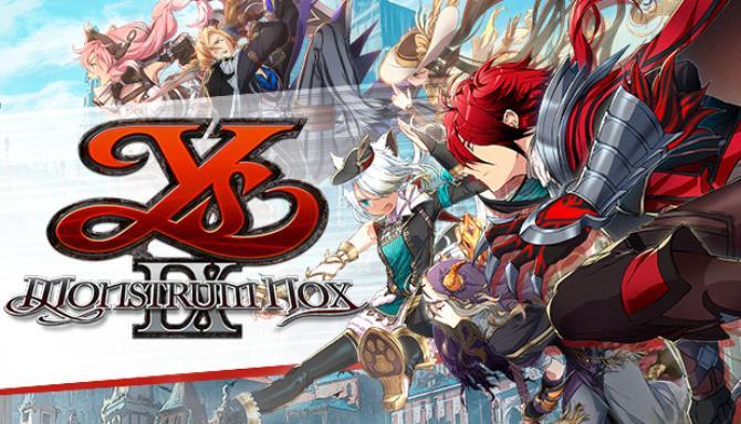 Ys IX Monstrum Nox Free Download