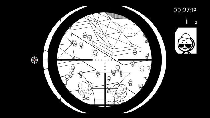 Geometric Sniper Blood in Paris PC Crack