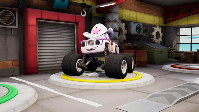Blaze and the Monster Machines Axle City Racers PC Crack